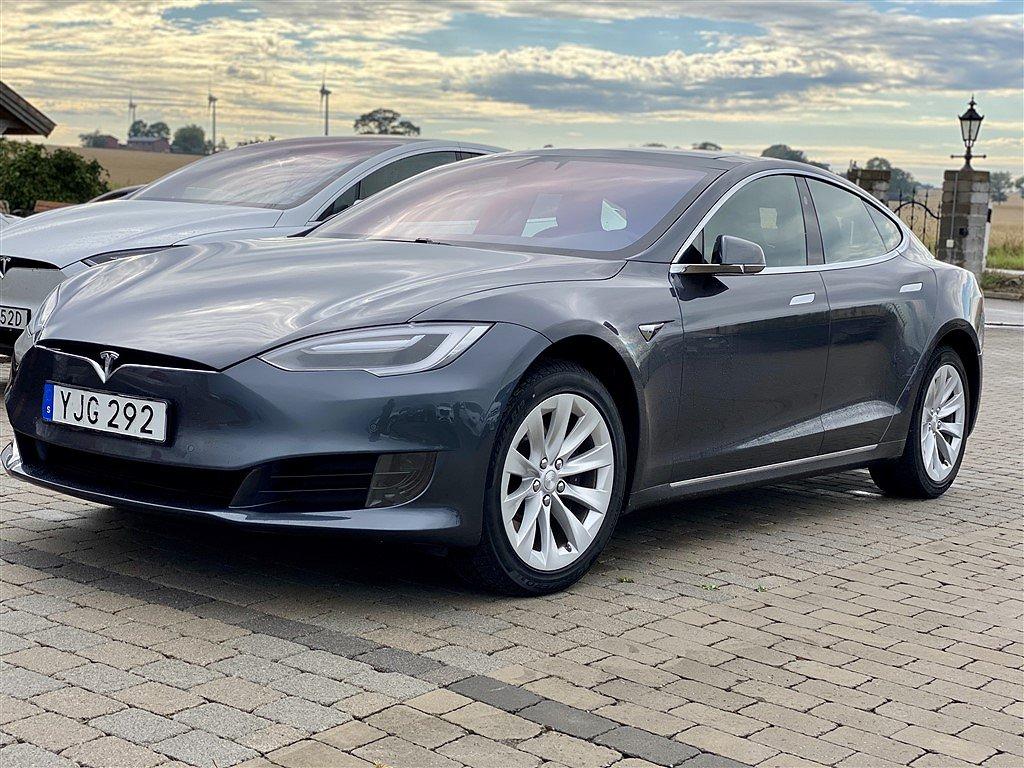 Tesla Model S 100D AWD/Glastak/Autopilot2/Luftfjädring