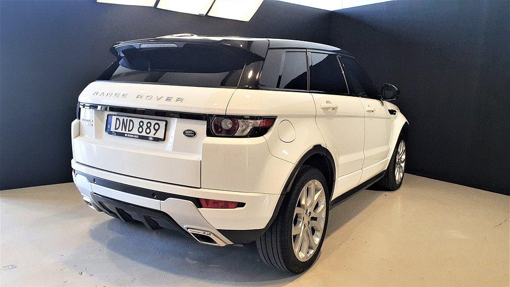 Land Rover Range Rover Evoque Dynamic SD4 190hk Panorama