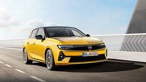Nya Opel Astra. Foto: Opel