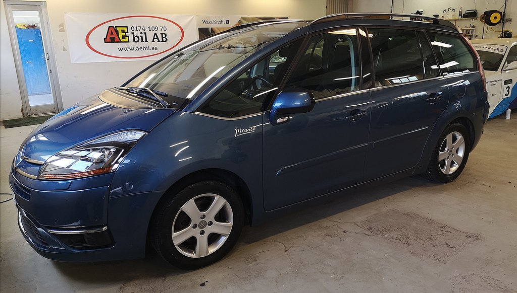 Citroën C4 Grand Picasso C4 2.0 HDiF EGS 7-sits 136hk