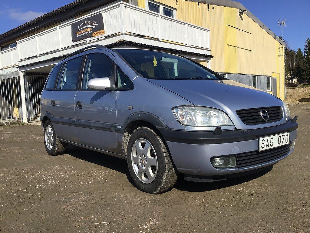 Opel Zafira 1.8 7-sits 125hk