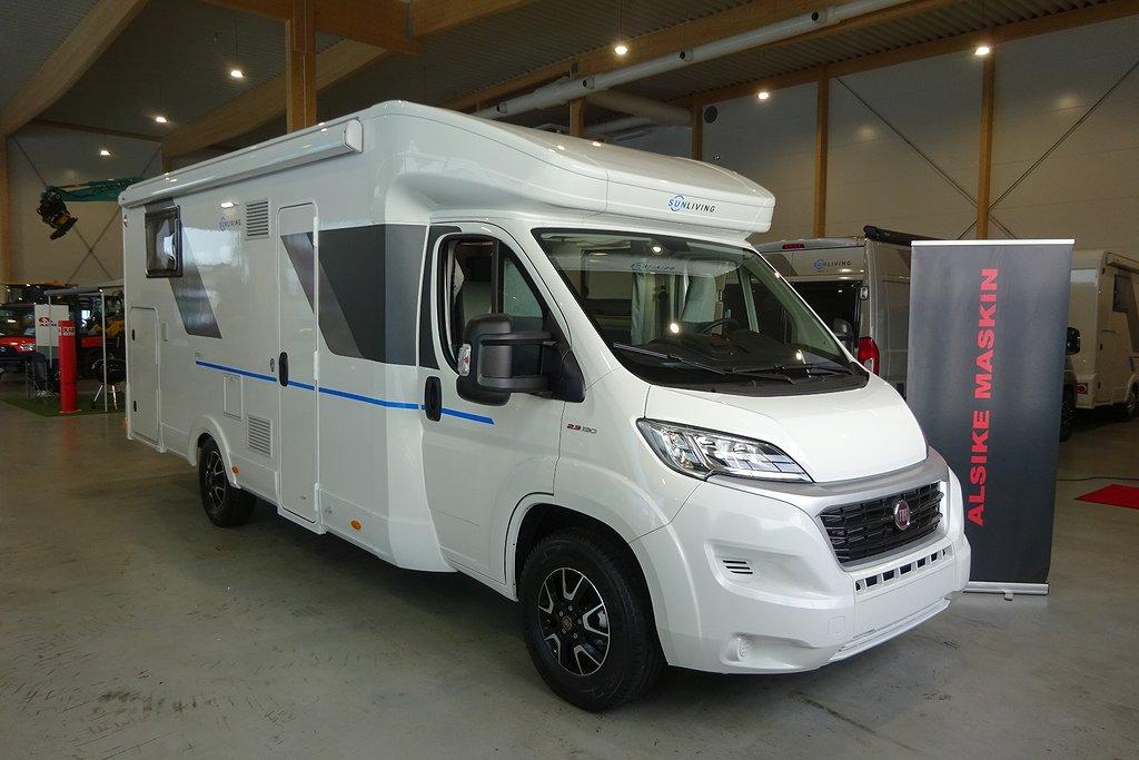 Sun Living S 75 SL  130 HP, 3500kg, Automat, Omg. leverans!