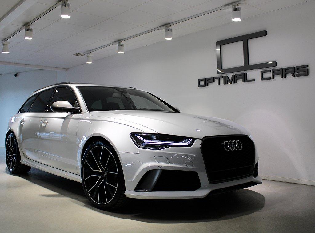Audi RS6 605HK+ Performance Milltek Svensksåld