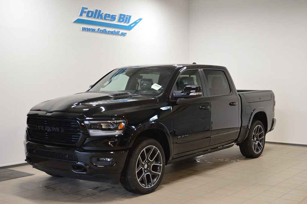 Dodge RAM 1500 Laramie Black Package Rambox
