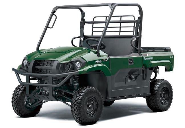 Kawasaki Mule MX Pro 4X4 Traktor registrerad