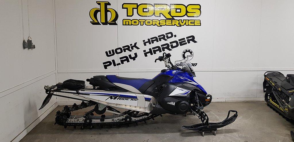 """Yamaha Nytro M-Ride 162"""" (261mil, fri frakt)"""