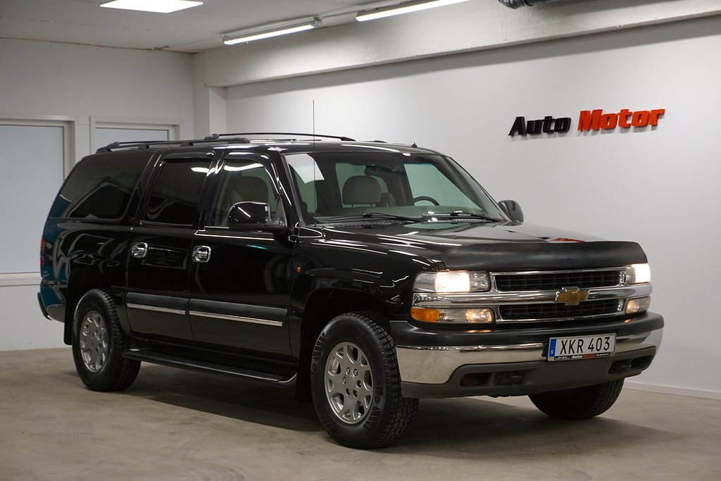 Chevrolet Suburban 1500 5.3 V8 4WD FlexFuel 299hk 2.95%