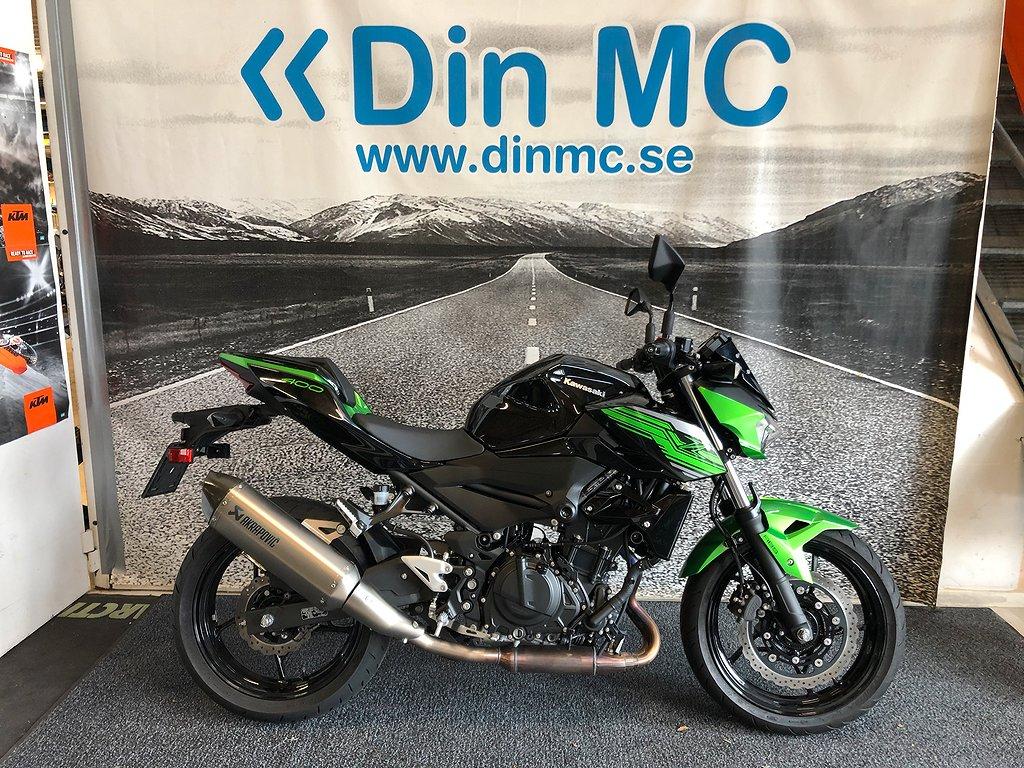 Kawasaki Z400 Performance Demo