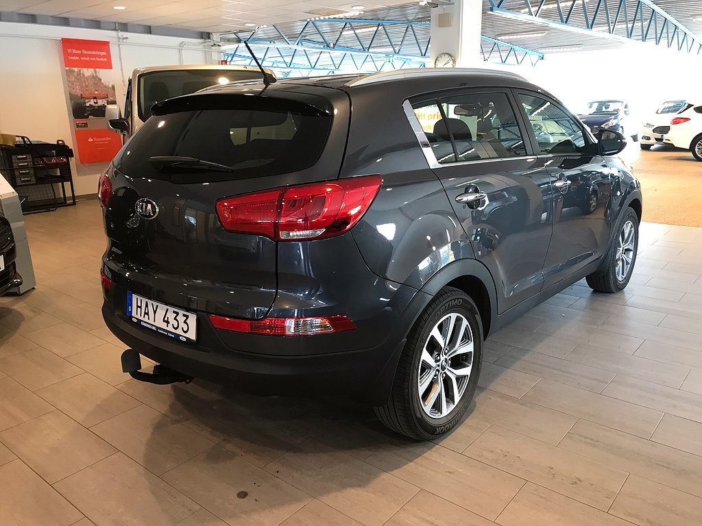 Kia Sportage 2.0 CRDi AWD Aut 184hk *Drag*