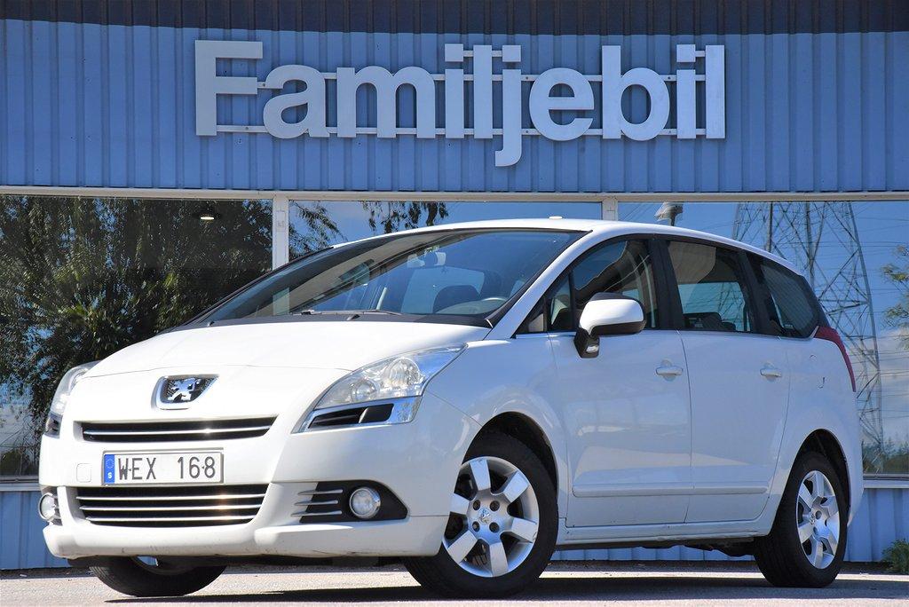 Peugeot 5008 1.6 HDI (110hk) Drag/6-Växlad/ACC/Sv-Såld