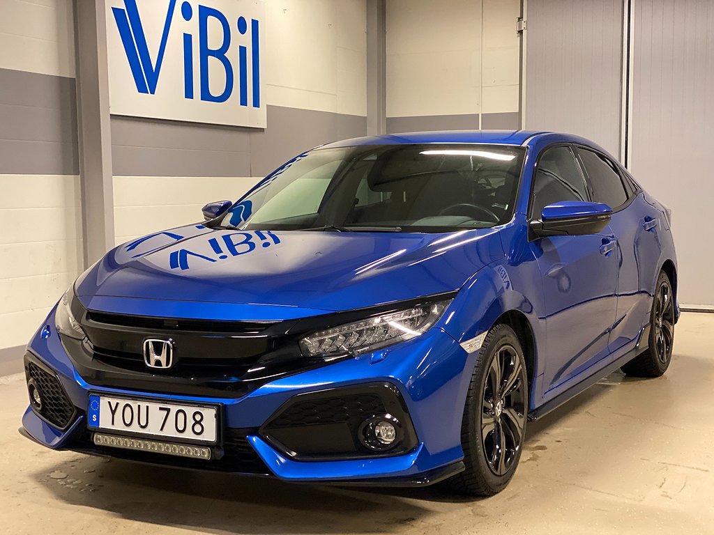 Honda Civic 1.5 i-VTEC TURBO CVT 182HK 5-dörrar Euro 6