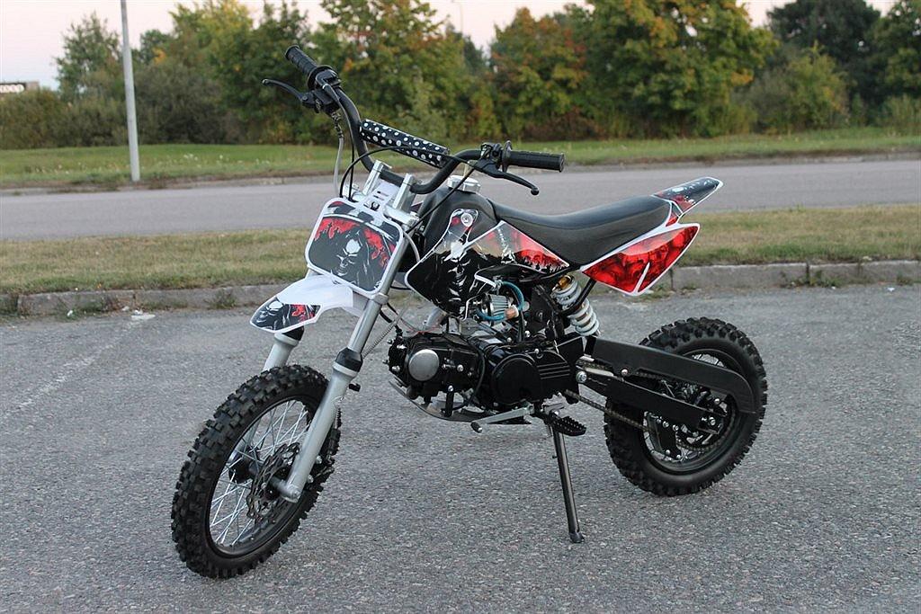 Dirtbike Cross DirtPro 125cc Röd