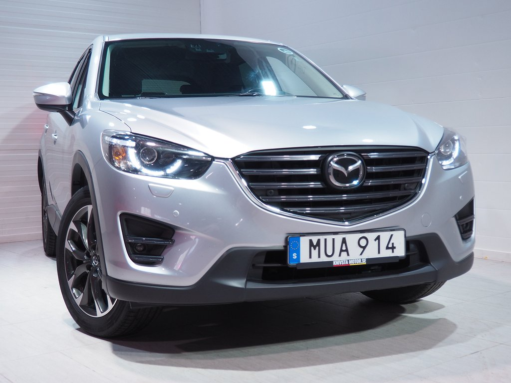 Mazda CX-5 Optimum 2,5 AWD Aut Dragkrok 2016
