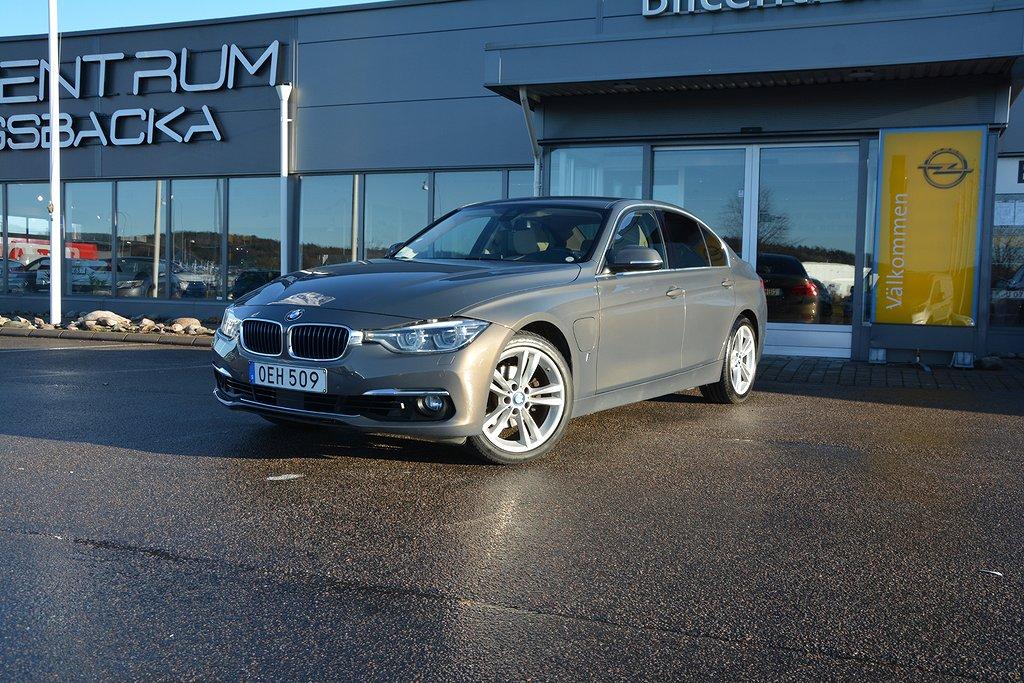 BMW 330e Sedan AUT,Luxury Line, Nav, M-Ratt, Läder, 252hk