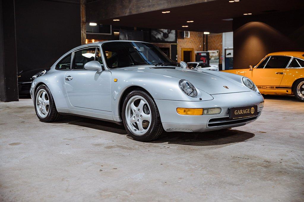 Porsche 993 993 Carrera 2 Svensksåld