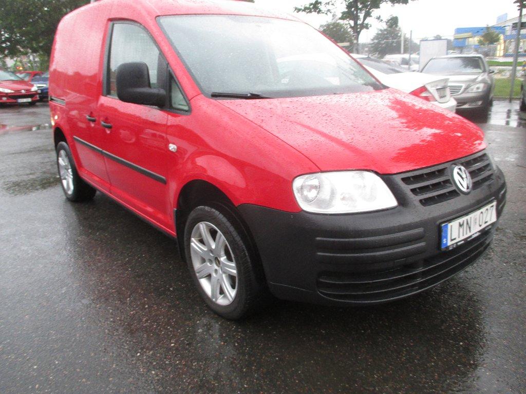 Volkswagen Caddy 1.9 TDI Aut DSG 102HK/NYBES/SKÅP/Drag