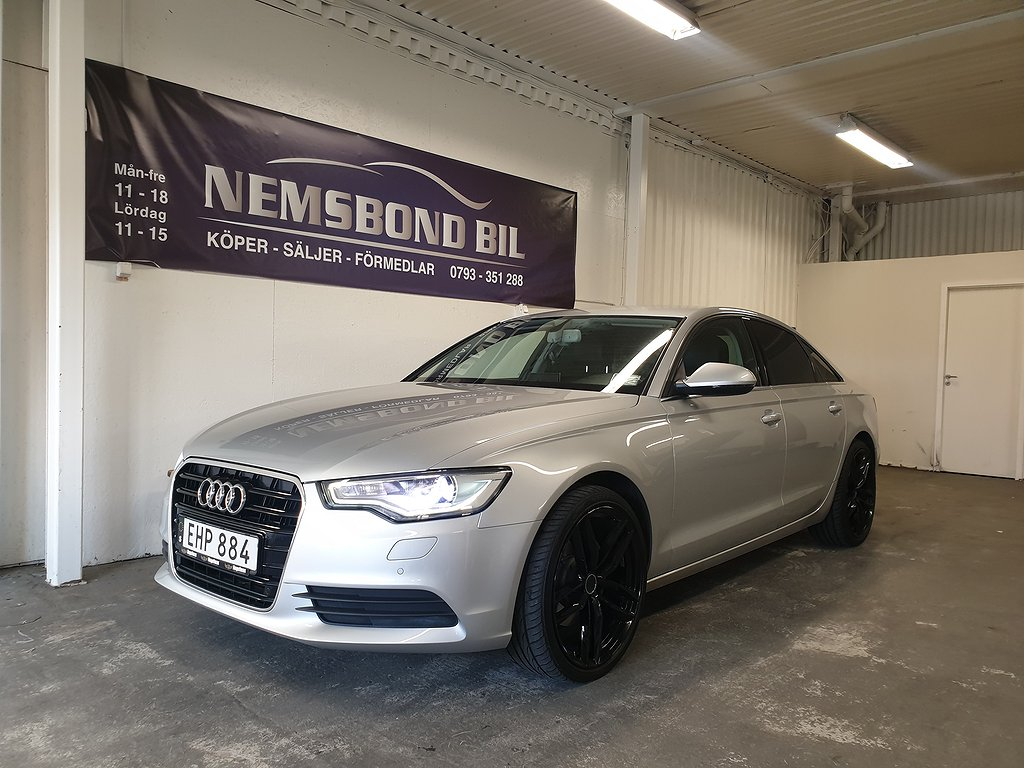 Audi A6 Sedan 3.0 TDI V6 DPF Multitronic 204hk