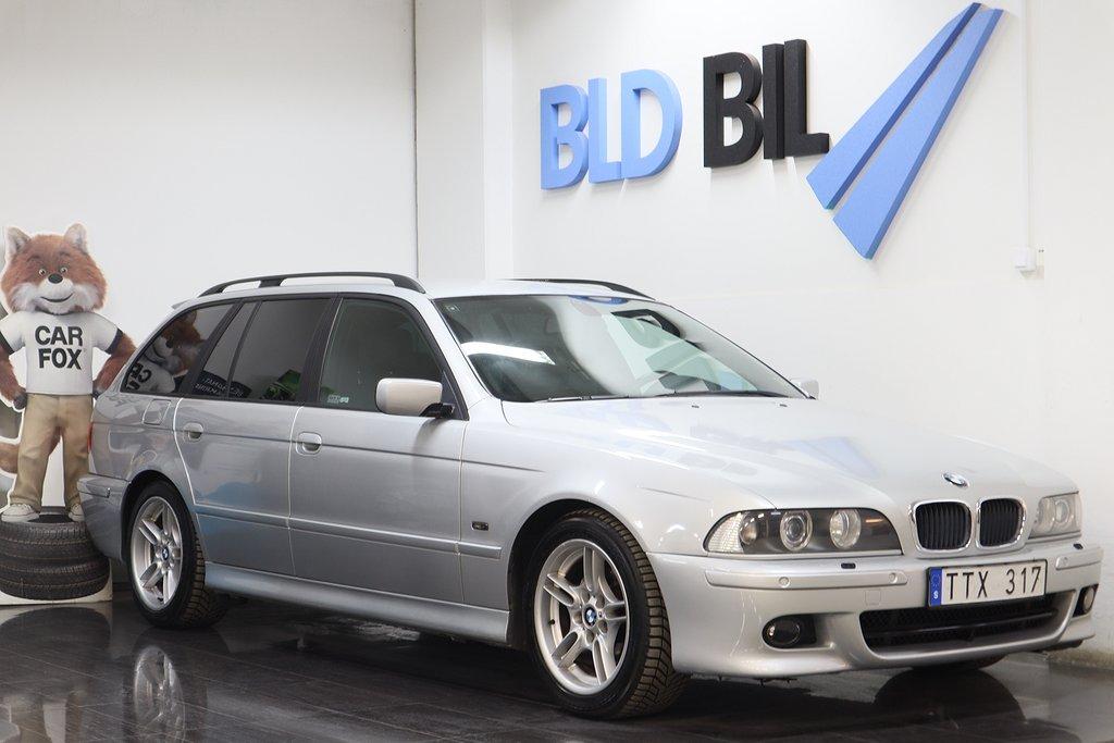 BMW 525 i TOURING AUTO DRAG NYBES 192HK