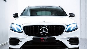 En fin Mercedes-Benz 350d 9G AMG.