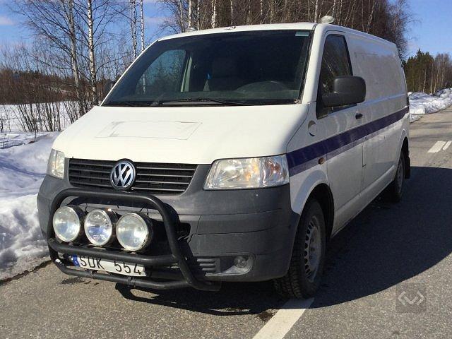 Volkswagen Transporter T5 2.5 TDI 4-motion (130hk)