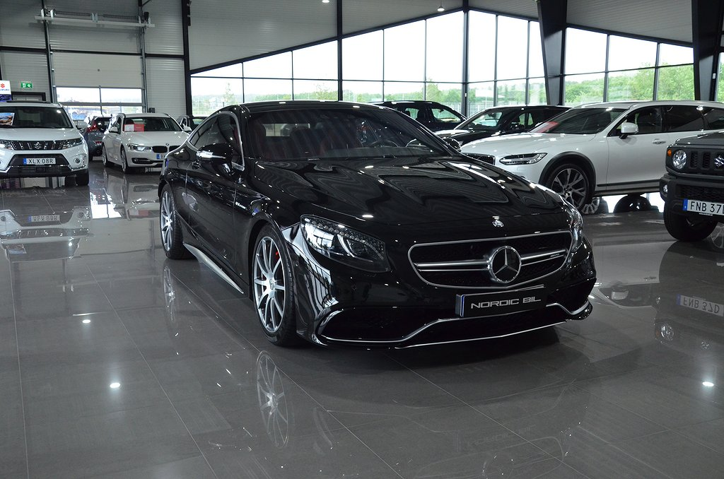 Mercedes-Benz S 63 AMG 4MATIC Coupé AMG Swarovski Exclusive