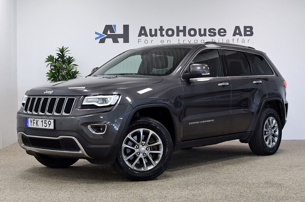 Jeep Grand Cherokee 3.0 V6 CRD 4WD 250HK Limited GPS Drag