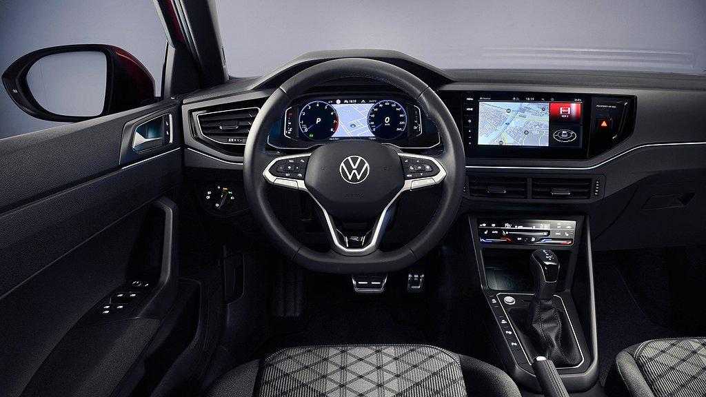 Interiören på Volkswagen Taigo