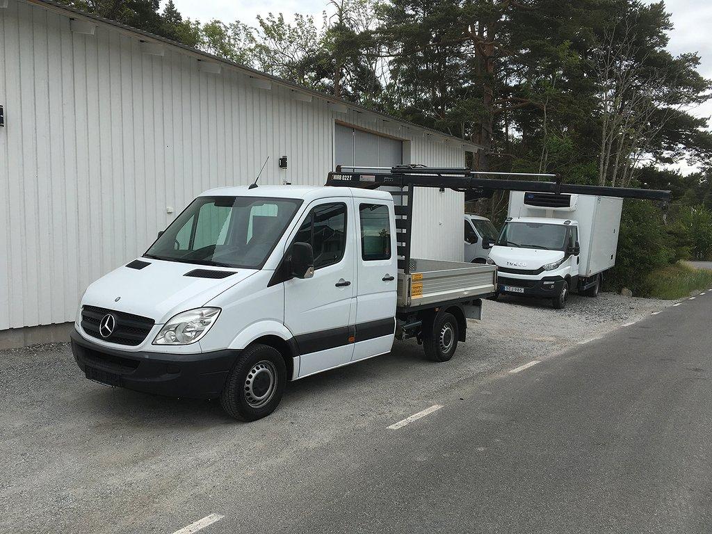 Mercedes-Benz Sprinter Dubbelhytt Kranbil