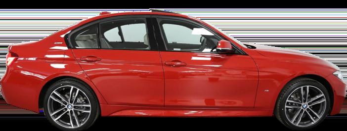Modellbild av en BMW 330e