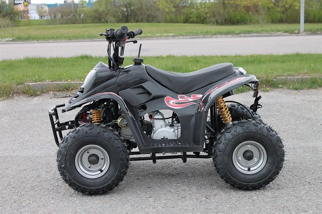 Loncin ATV 70cc 70-B Barn Fyrhjuling Svart