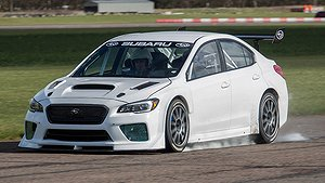 Prodrive preppar Subaru WRX STI för rekordförsök