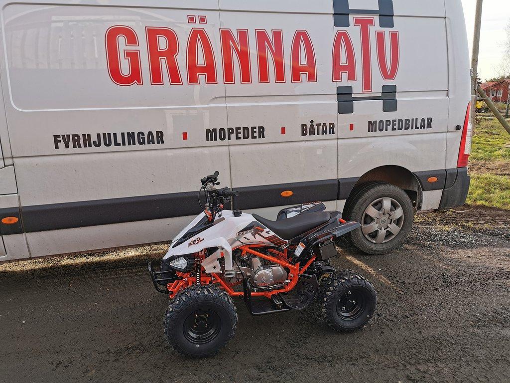 Goes 110cc Predator Tuff Quad! OMG LEV Gränna ATV