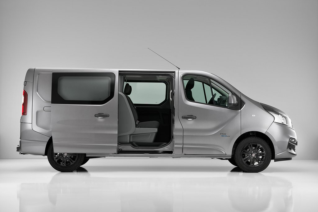 Fiat Talento Crewcab AUTOMAT 145 hk Diesel