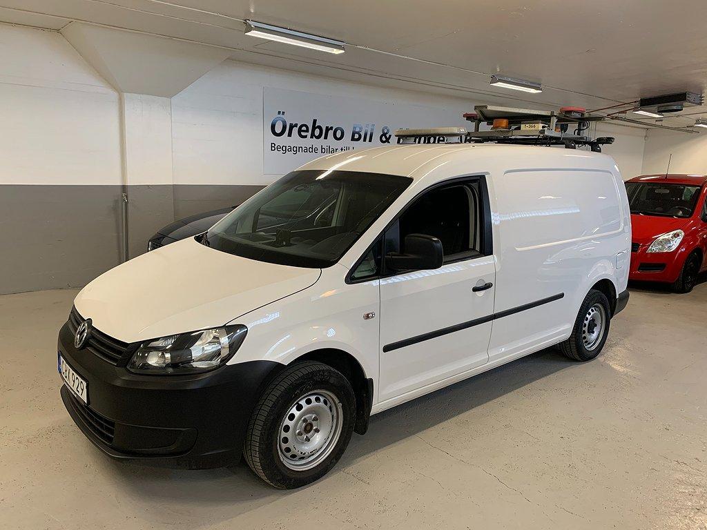 Volkswagen Caddy Maxi 2.0 EcoFuel 109hk Inredning Drag