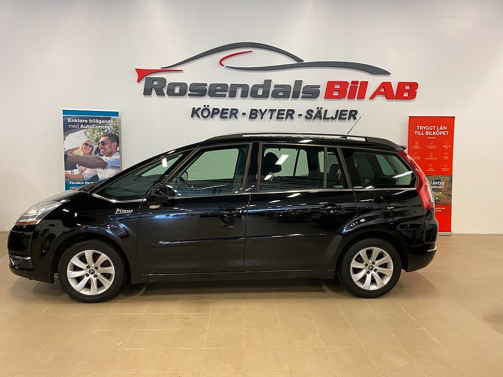 Citroën Grand C4 Picasso 2.0 HDiF  EGS 7-sits 136hk Ny Servad Ny kamrem