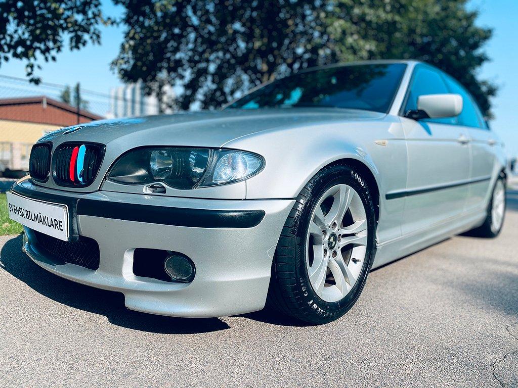 BMW 320 i E46 Sedan M-Sport STCC 170hk Lågmil