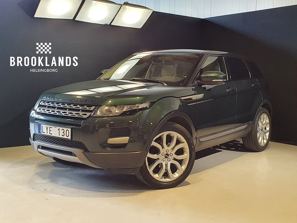 Land Rover Range Rover Evoque SD4 190hk 4WD Ny kamrem
