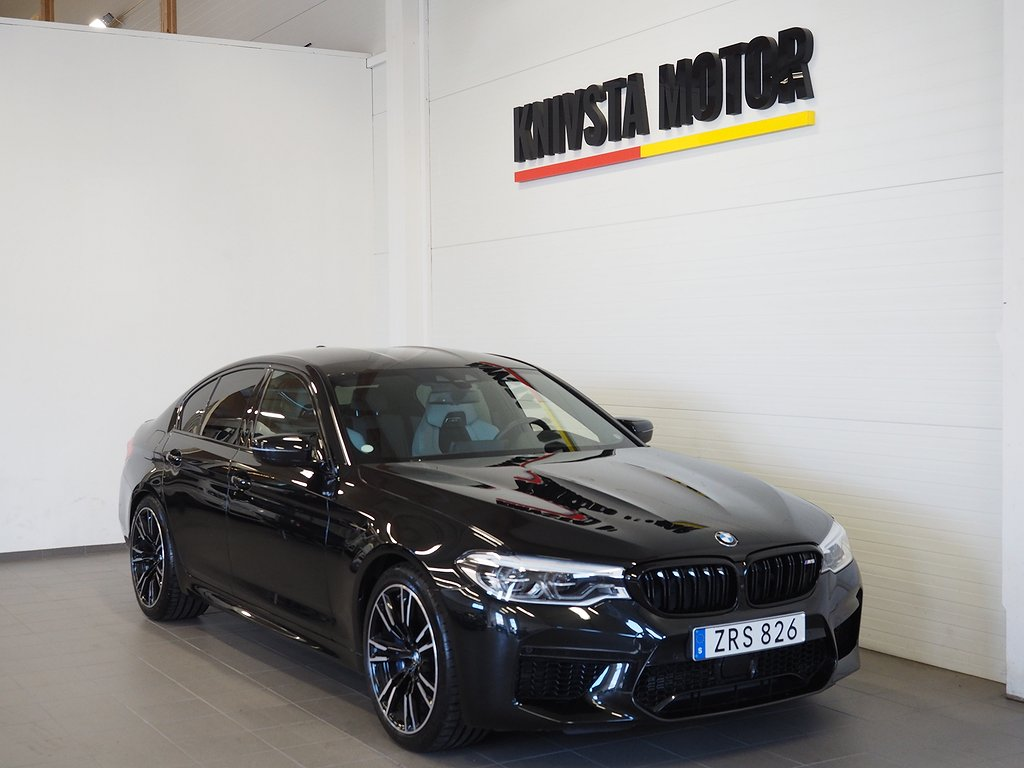 BMW M5 Sedan xDrive M Driver's paket Drag 2019