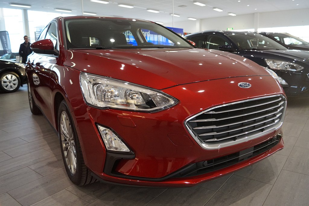 Ford Focus Nya 1.0T EcoBoost 125hk Titanium Launch Edition