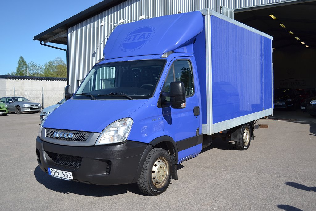 Iveco Daily IV 3.0 HPT 35C17 NYBES BAKGAVELLYFT
