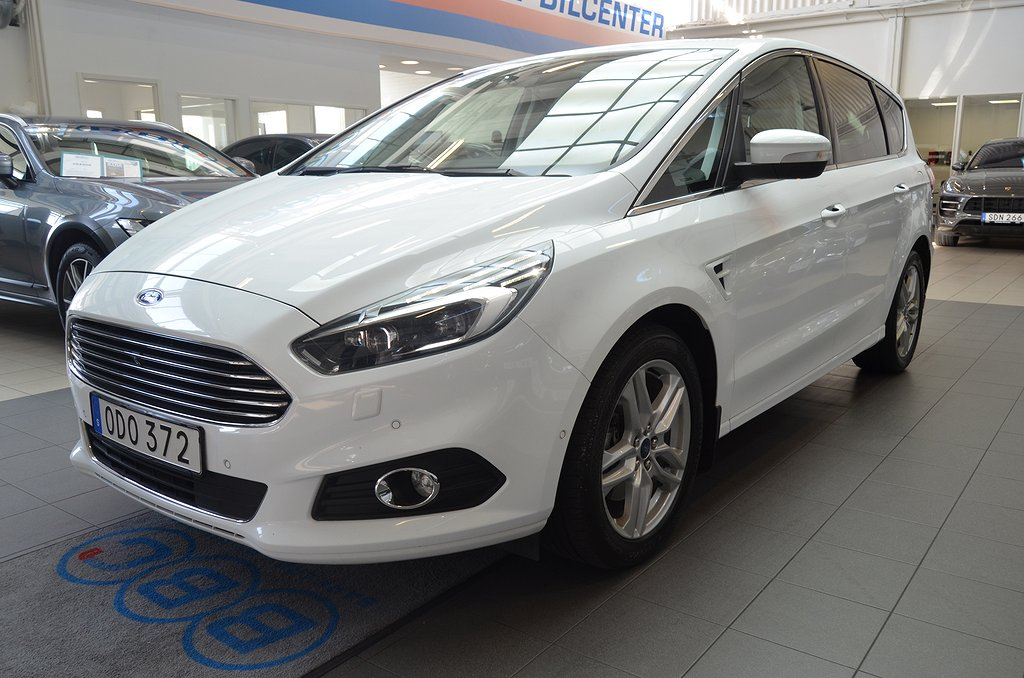 Ford S-Max 2.0 TDCi 180hk AWD Automat 7-Sits /  BLIS