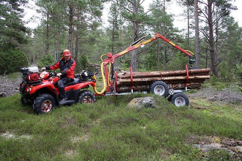 Övrigt Kranman T1750 4WD