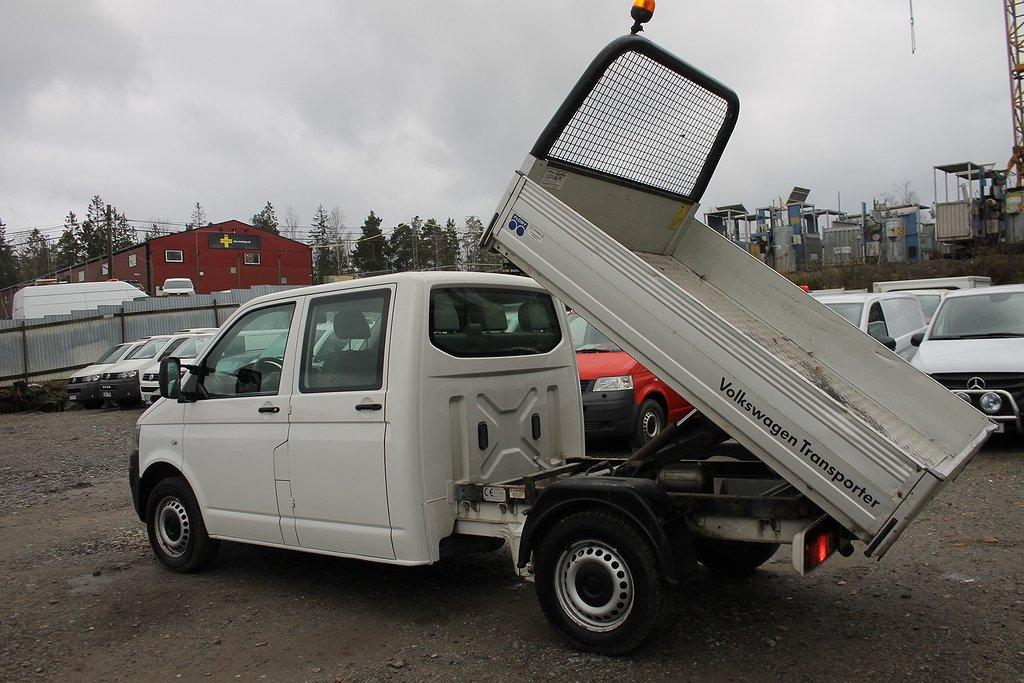 Volkswagen Transporter 2.0 TippFlak Dubl.Hytt
