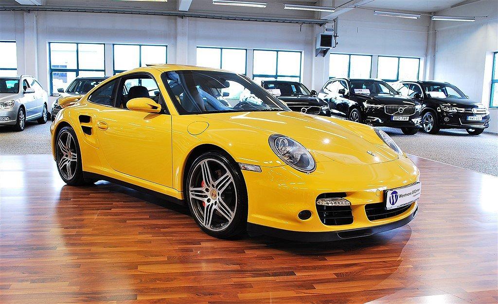 Porsche 911 997 Turbo 480 hk TipTronic S *Sport Chrono*
