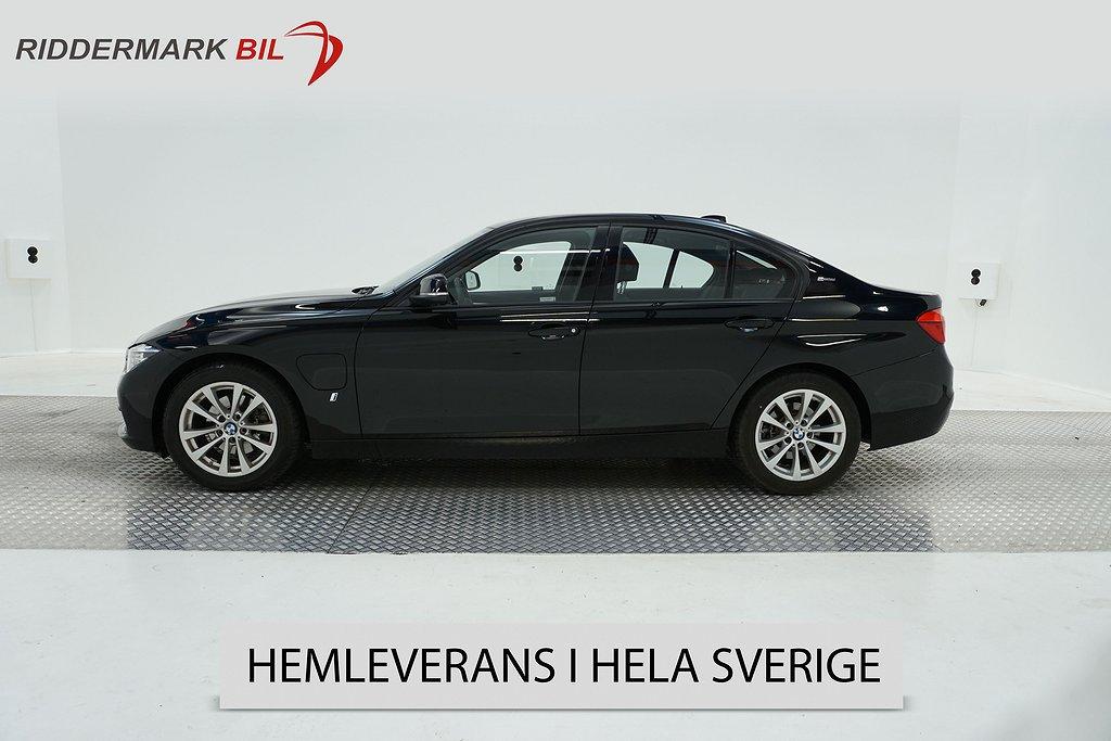 BMW 330e Laddhybrid Sportline 252hk Navi 3376Mil Lågskatt