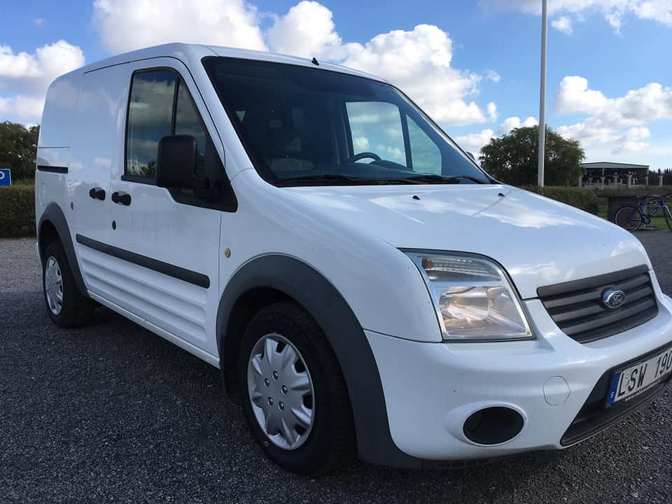 Ford Transit Connect TDCI Drag Nybes