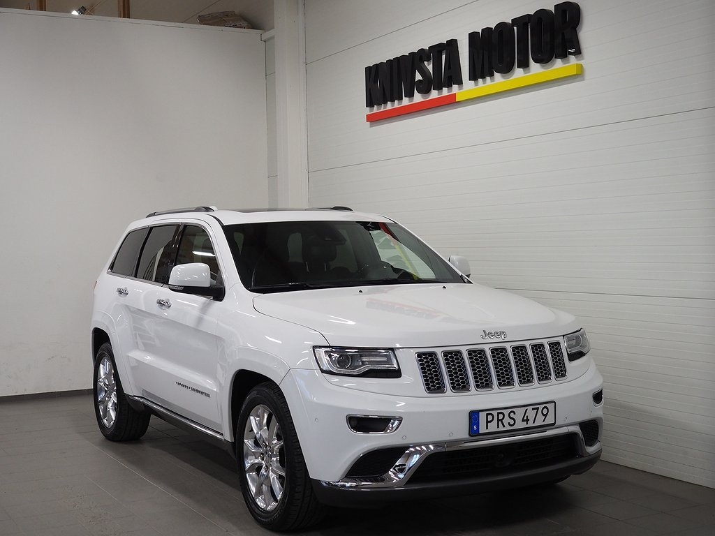 Jeep Grand Cherokee 3.0 V6 CRD 4WD AUT SUMMIT 250hk 2015