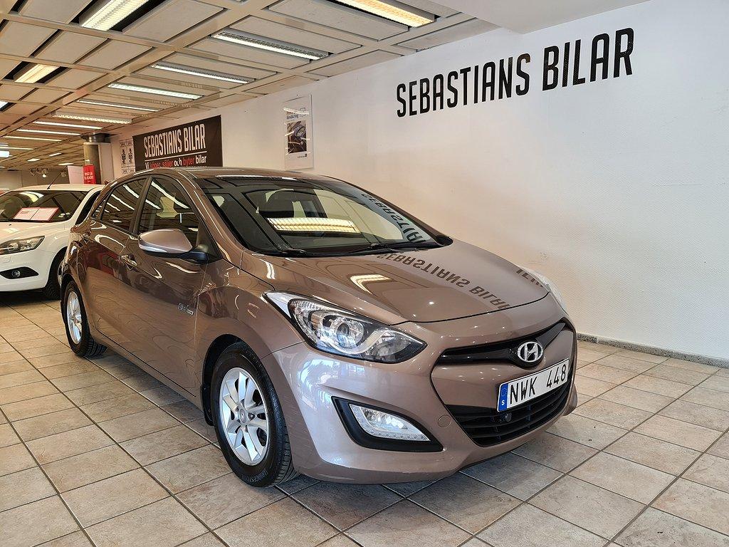 Hyundai i30 5-dörrar 1.6 CRDi 110hk drag välvårdad
