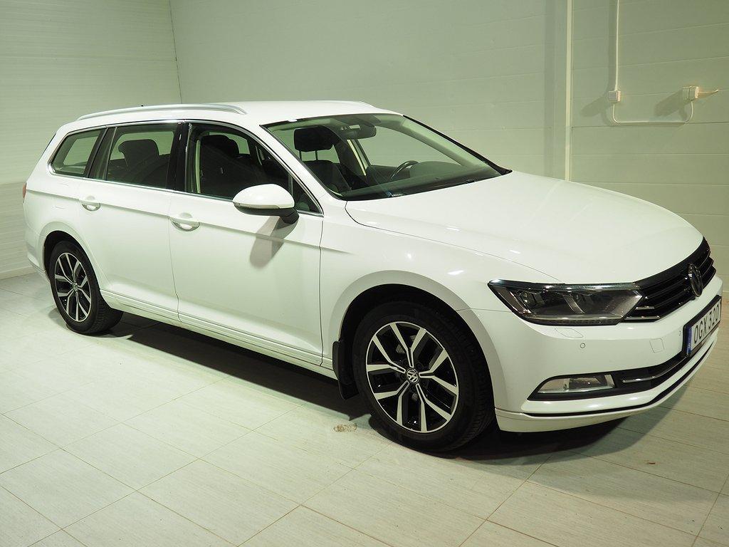 Volkswagen Passat 2.0 TDI 150hk Aut Executive Drag D-värm 2017