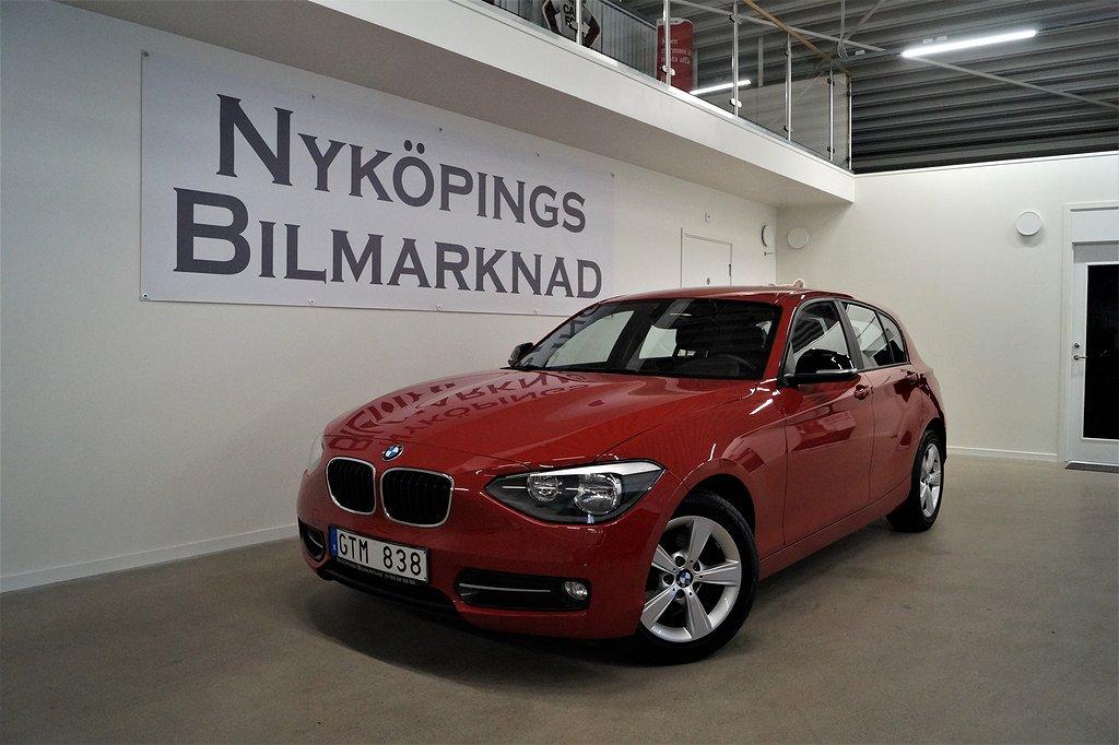 BMW 118 D SPORT LINE 143HK KEYLESS 12 MÅNADERS GARANTI